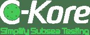 C-Kore: Simplify Subsea Testing Logo
